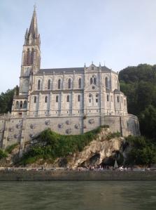 La grotte de Massabielle, juillet 2013