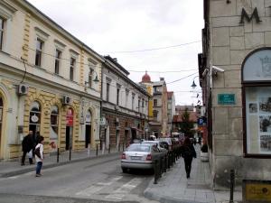 Rue où fut assassinée François-Ferdinand le 28 juin 1914