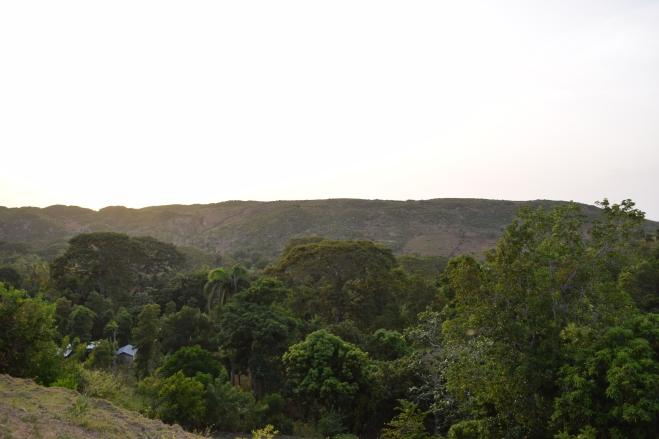 Bellevue, mornes haïtiennes, juillet 2014