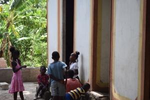 Enfants des mornes, Haïti, juillet 2014
