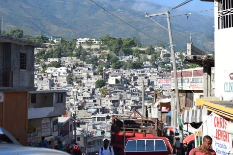 Port-au-Prince, quartier Bourdon, août 2014
