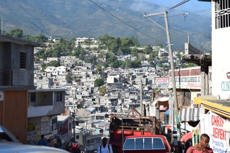 Port-au-Prince, quartier Bourdon, août 2014