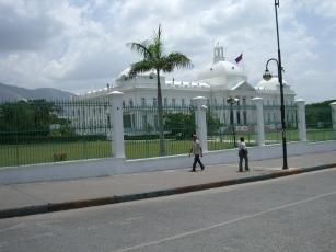 Le palais présidentiel en 2008