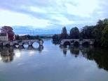 Vieux pont, Limay / la Centrale de Porcheville en arrière-plan