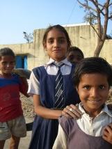 A proximité de Chittorgarh, Rajasthan, Inde