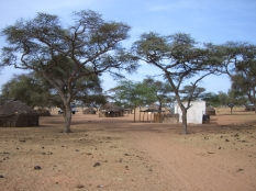 Village, proche Saint-Louis, Sénégal
