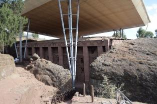 Eglises hypogées de Lalibela, Ethiopie > Beta Medani Alem
