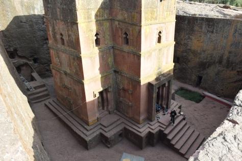Beta Ghiorghis, Lalibela, Ethiopie