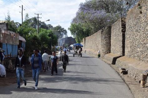 Murailles de la cité royale, Gondar, Ethiopie
