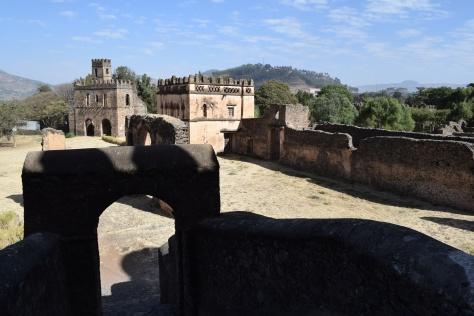 Cité royale, Gondar, Ethiopie