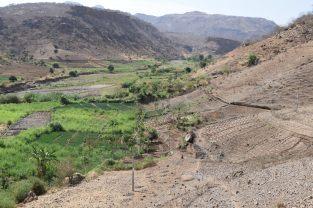 Route Lalibela-Axoum, Ethiopie