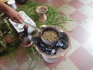 Cérémonie du café (buna), Ethiopie