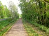 Chemin entre Bray-et-Lû et Gisors
