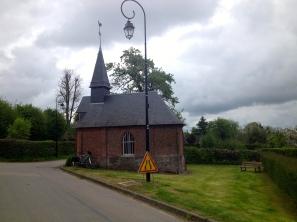 Amécourt, chapelle Sainte-Anne